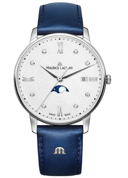 Maurice Lacroix Eliros Moonphase EL1096-SS001-150-1 mens watch sale