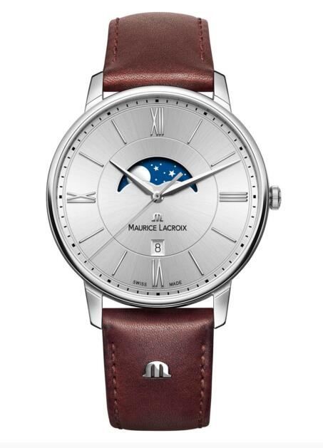 Maurice Lacroix Eliros Moonphase EL1108-SS001-110-1 replica watch sales