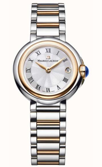 Maurice Lacroix Fiaba 26mm Womens Two Tone Silver Dial replica watches