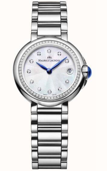 Replica Maurice Lacroix Fiaba FA1003-SD502-170-1 28mm Diamond Set women's watch