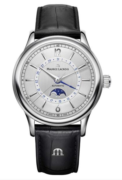 Maurice Lacroix Les Classiques Moonphase LC6168-SS001-120-1 replica watch
