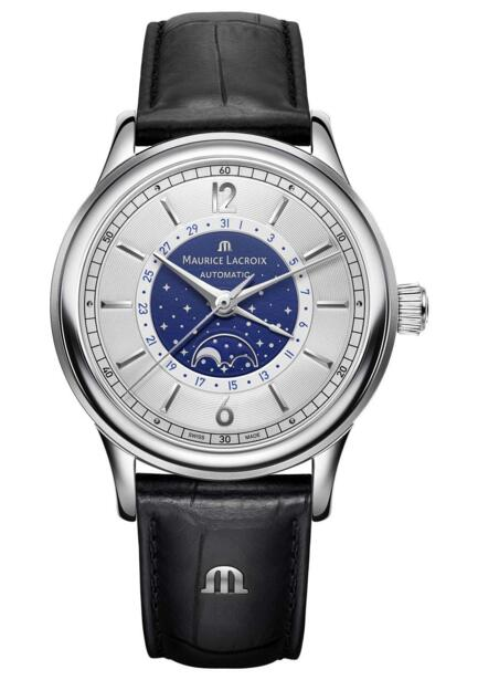 Maurice Lacroix Les Classiques Moonphase LC6168-SS001-122-1 watch replica