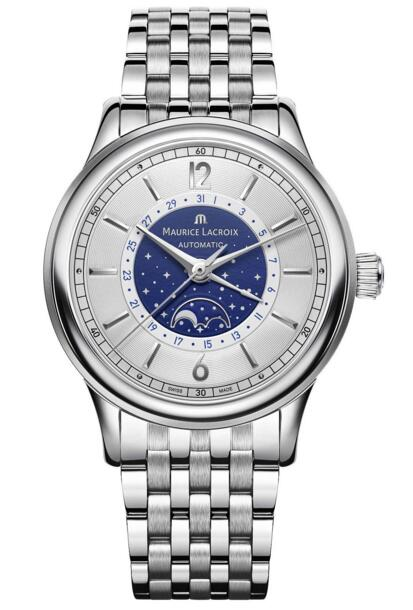 Maurice Lacroix Les Classiques Moonphase LC6168-SS002-122-1 watch review