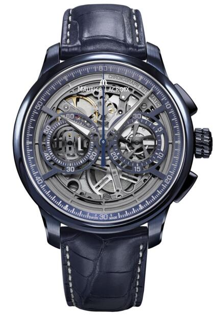 Replica Maurice Lacroix MP6028-PVC01-002-1 Masterpiece Chronograph Skeleton Price