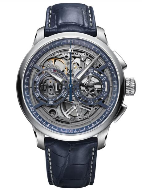 Maurice Lacroix MP6028-SS001-002-1 Masterpiece Chronograph Skeleton replica watch