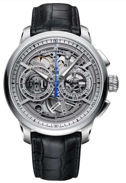 Best Maurice Lacroix Masterpiece Chronograph Skeleton MP6028-SS101-001-1Replica watch