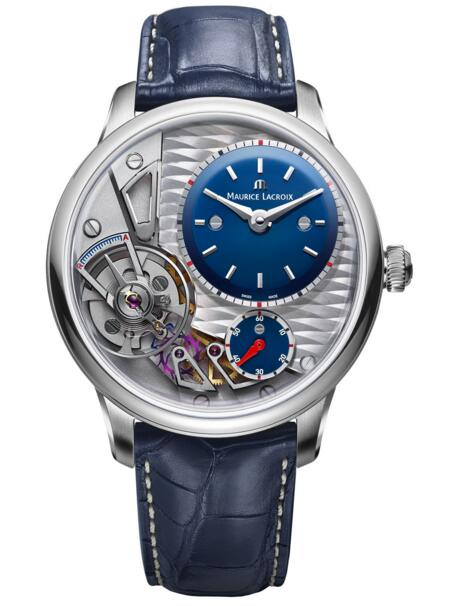 Maurice Lacroix Masterpiece Gravity Blue MP6118-SS001-434-1 Price