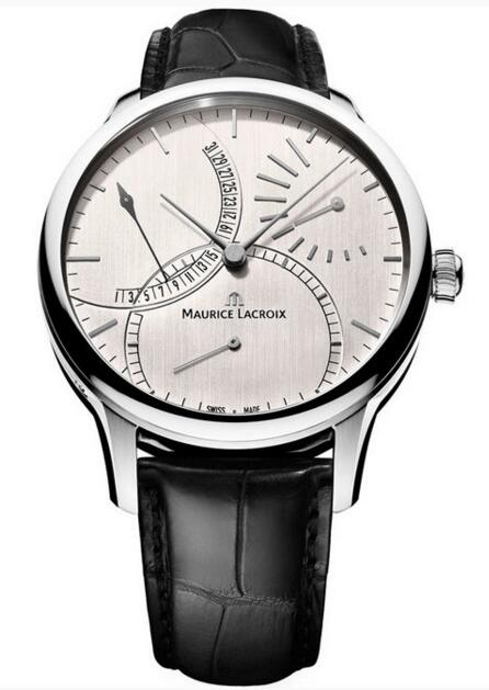 fake Maurice Lacroix Masterpiece Retrograde Calendar MP6508-SS001-130-1 watches