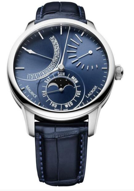 Maurice Lacroix Masterpiece Retrograde Moon MP6528-SS001-430-1 fake watches