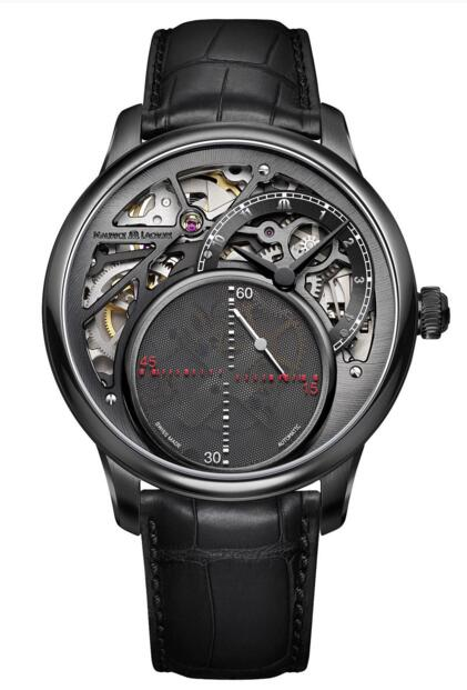 Maurice Lacroix Masterpiece Mysterious Seconds Revelation MP6558-PVB01-092-1 watch replicas
