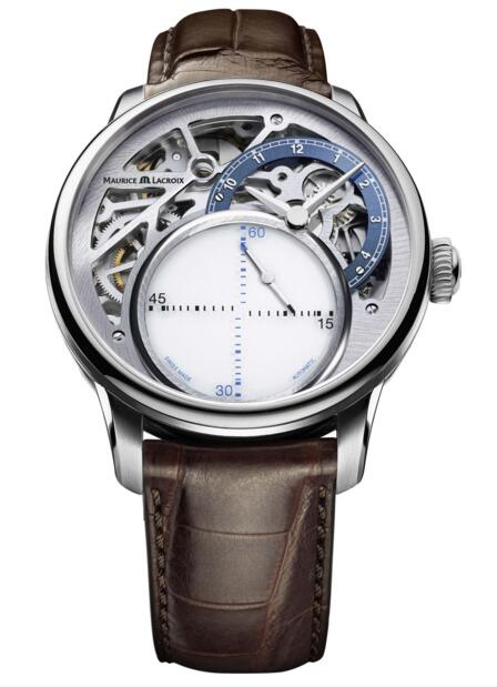 Maurice Lacroix MP6558-SS001-094-2 Masterpiece Mysterious Seconds men's watch