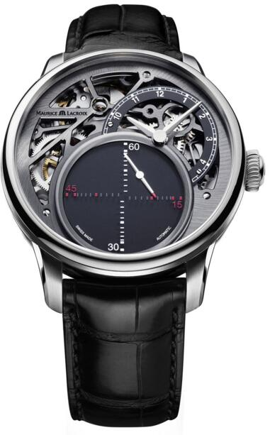 Maurice Lacroix MP6558-SS001-095-1 Masterpiece Mysterious Seconds watch Review