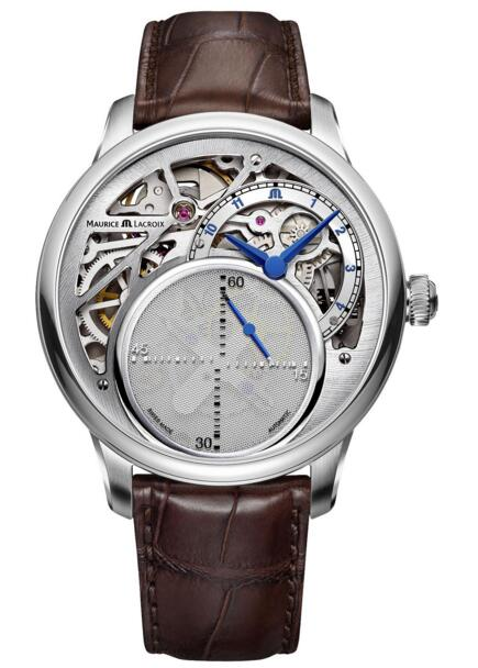 Maurice Lacroix MP6558-SS001-096-1 Masterpiece Mysterious Seconds watch replicas