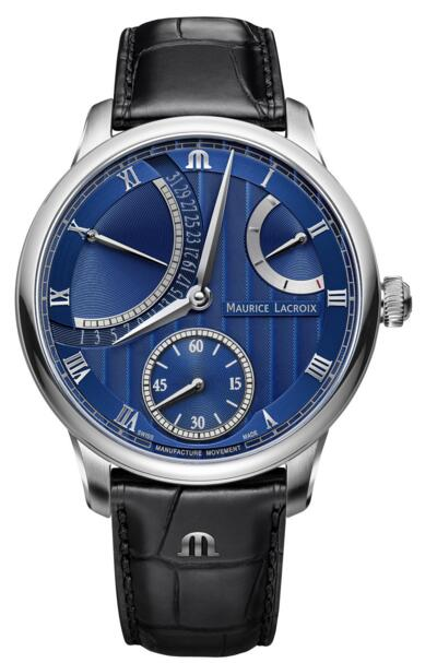Replica Maurice Lacroix Masterpiece MP6568-SS001-430-1 Calendar Retrograde watches