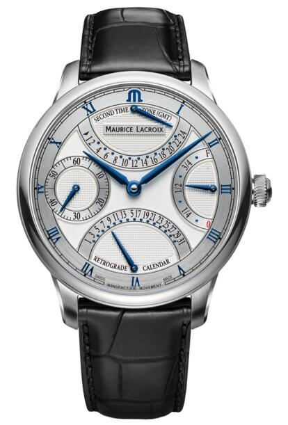 Replica Maurice Lacroix Masterpiece MP6578-SS001-131-1 Double Retrograde Price
