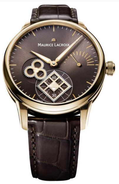 Best Maurice Lacroix Masterpiece Square Wheel MP7158-PG101-700 Replica watch