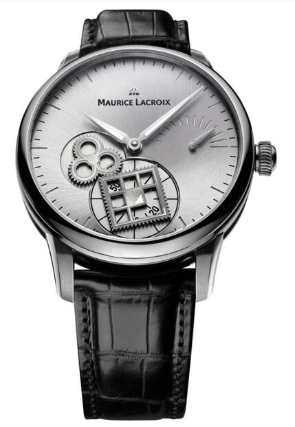 Best Maurice Lacroix Masterpiece Square Wheel MP7158-SS001-901 Replica watch
