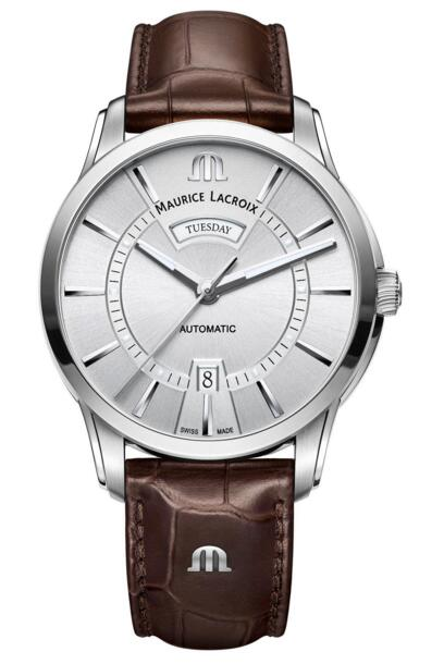 Maurice Lacroix Pontos Day Date PT6358-SS001-130-1 watch prices