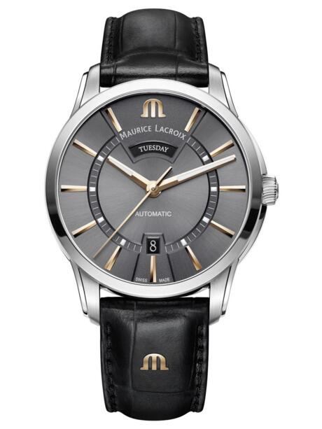 Maurice Lacroix Pontos Day Date PT6358-SS001-331-1 men's watches Replica