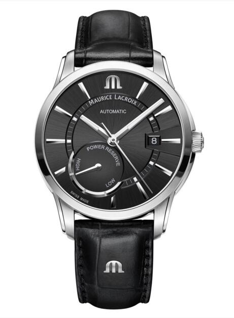 Maurice Lacroix Pontos PT6368-SS001-330-1 Power Reserve mens watch