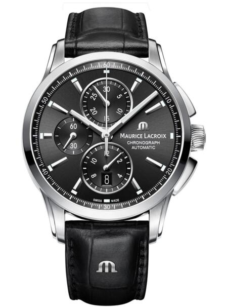 Maurice Lacroix Pontos Chronograph PT6388-SS001-330-1 watch Review