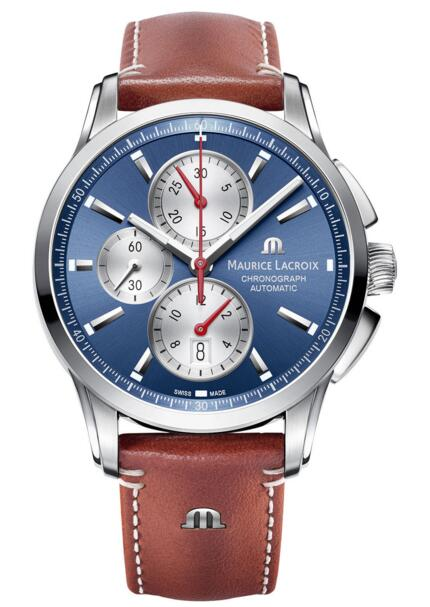 Maurice Lacroix Pontos Chronograph PT6388-SS001-430 watch Price