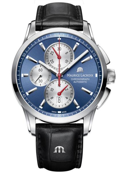 Maurice Lacroix Pontos Chronograph PT6388-SS001-430-1 replica watch Review