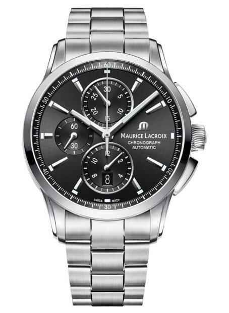 Maurice Lacroix Pontos Chronograph PT6388-SS002-330-1 watch Review