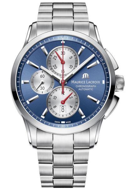 Maurice Lacroix Pontos Chronograph PT6388-SS002-430-1 watch Review