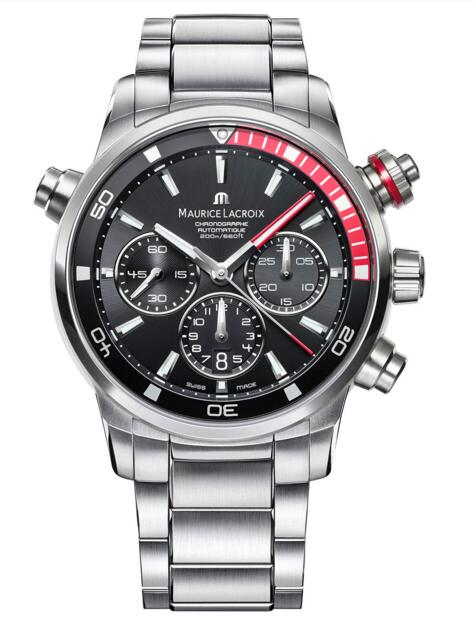 Maurice Lacroix Pontos S PT6018-SS002-330 Stainless Steel Fake watches