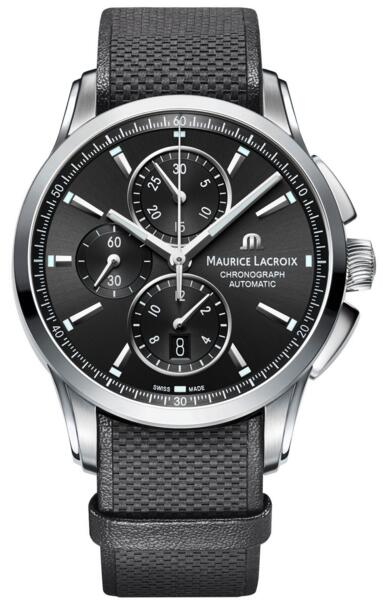 Maurice Lacroix Pontos Chronograph T6388-SS001-330 watch replica