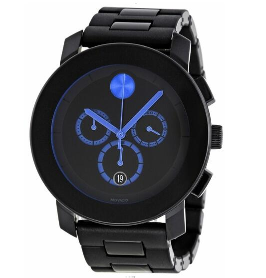 NEW MOVADO BOLD CHRONOGRAPH WATCH 3600101