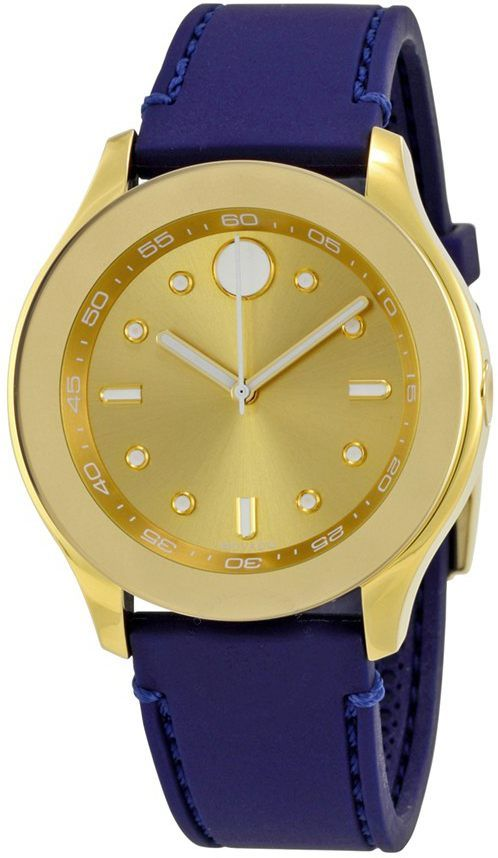 Movado Bold Blue Strap Women's Watch 3600413 replica