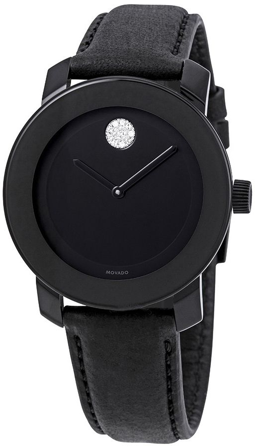 Movado Bold Women's Black Watch 3600483 on sale