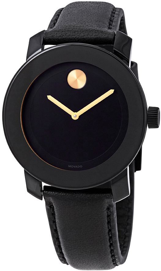 Movado Bold Black 3600527 watches for women
