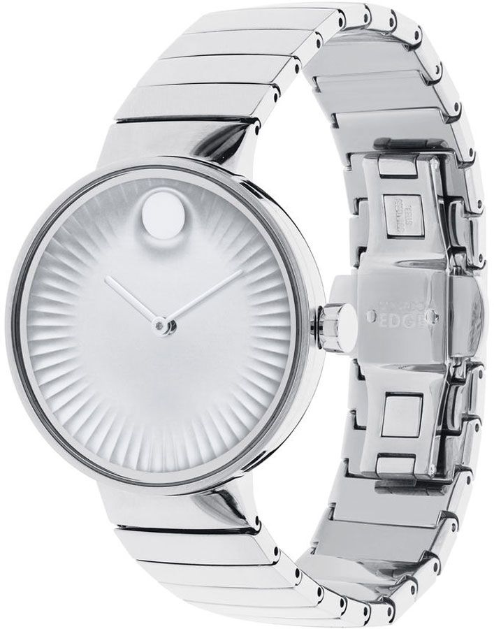 Movado Edge Silver Dial Women's Watch 3680012