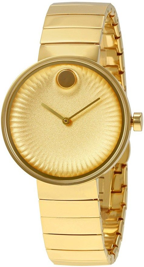 Movado Edge Yellow Gold Women's Watch 3680014