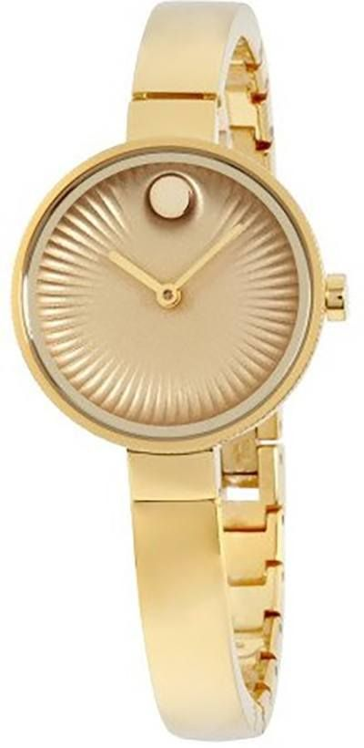 Movado Edge Gold Women's Watch 3680021