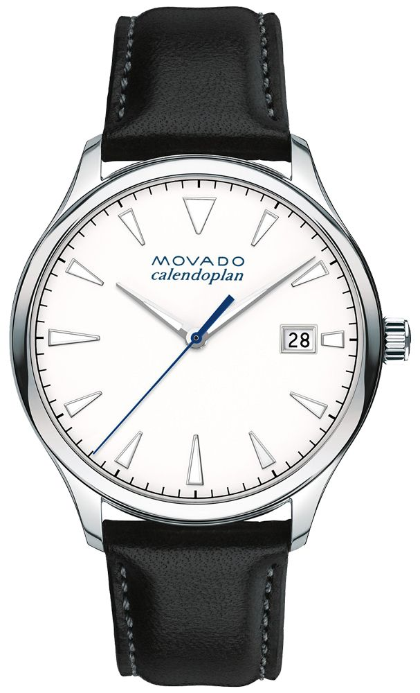 wholesale Movado Heritage White Dial Men's Watch 3650002