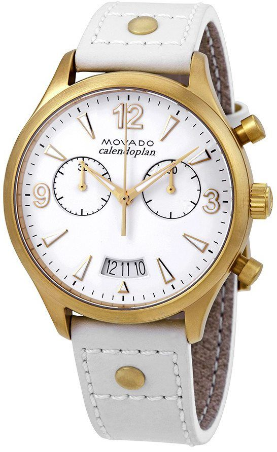 replica Movado Heritage White Dial Women's Watch 3650026