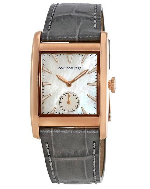 Movado Heritage Rose Gold Watch 3650051