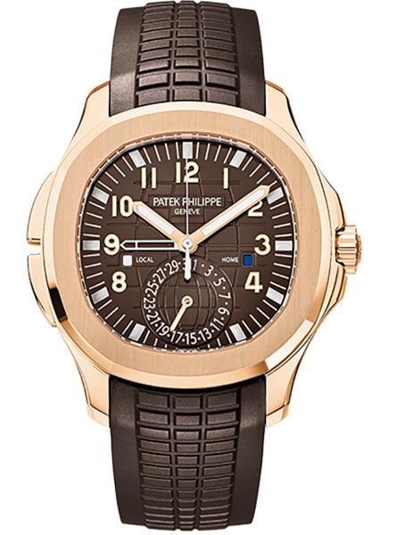 Patek Philippe Aquanaut Replica 5164R-001 Travel Time 5164R watch