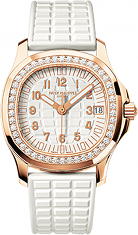 Patek Philippe Aquanaut Replica 5068R-010 Ladies Rose Gold watch