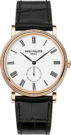 Buy Patek Philippe Calatrava Rose Gold 5116R-001 replicas watch