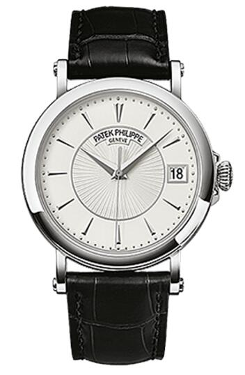 Patek Philippe 5153G-010 Calatrava Man White Gold watch for sale