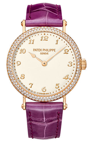 Fake Patek Philippe 7200/200R-001 Calatrava 7200/200 Rose Gold Ladies watch for sale