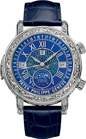 Patek Philippe 6002G Grand Complications Sky Moon Tourbillon Replica