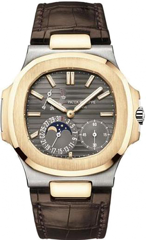 Replica Patek Philippe Nautilus 5712GR-001 5712 Power Reserve Moonphase watch cost
