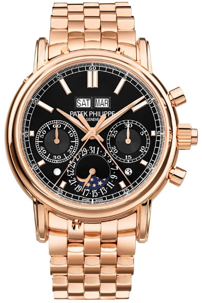 fake Patek Philippe 5204/1R Perpetual Calendar Split-Seconds Chronograph watches