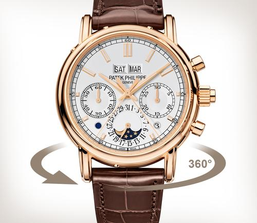 replica Patek Philippe Grand Complications Rose gold 5204R-001 watches